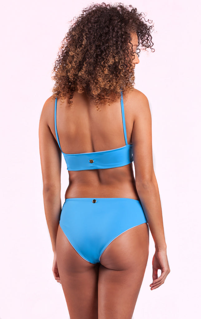 Eos Reversible Retro Bottom Caribbean Blue / White - Surf Souleil