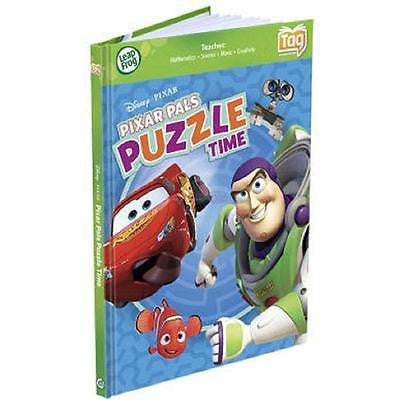 LeapFrog TAG READER Book Disney Pixar Pals Puzzle Time: Buzz Cars Walle and More