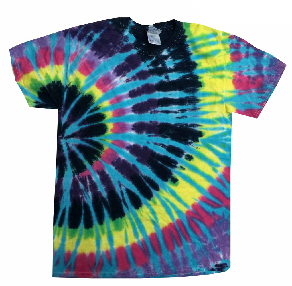 GALACTIC ENERGY TIE-DYE T-SHIRT FOR KIDS