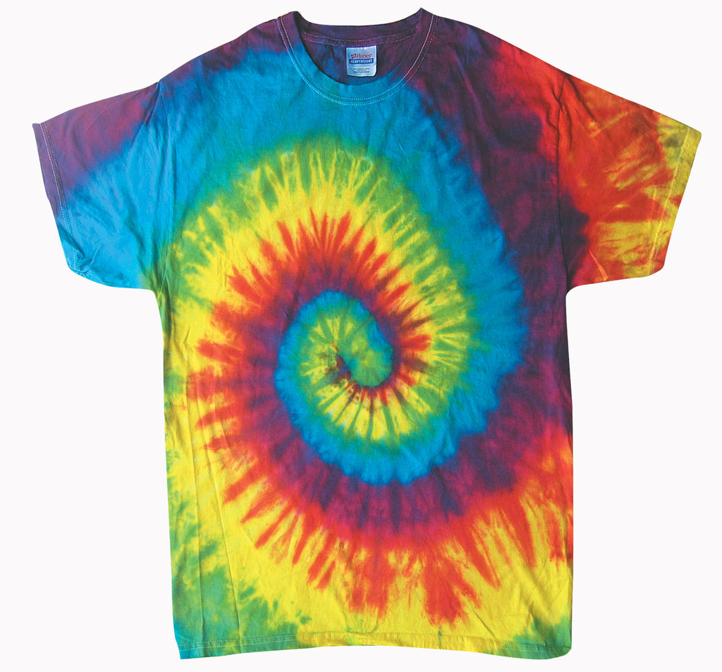 SOMEWHERE OVER THE RAINBOW TIE-DYE T-SHIRT
