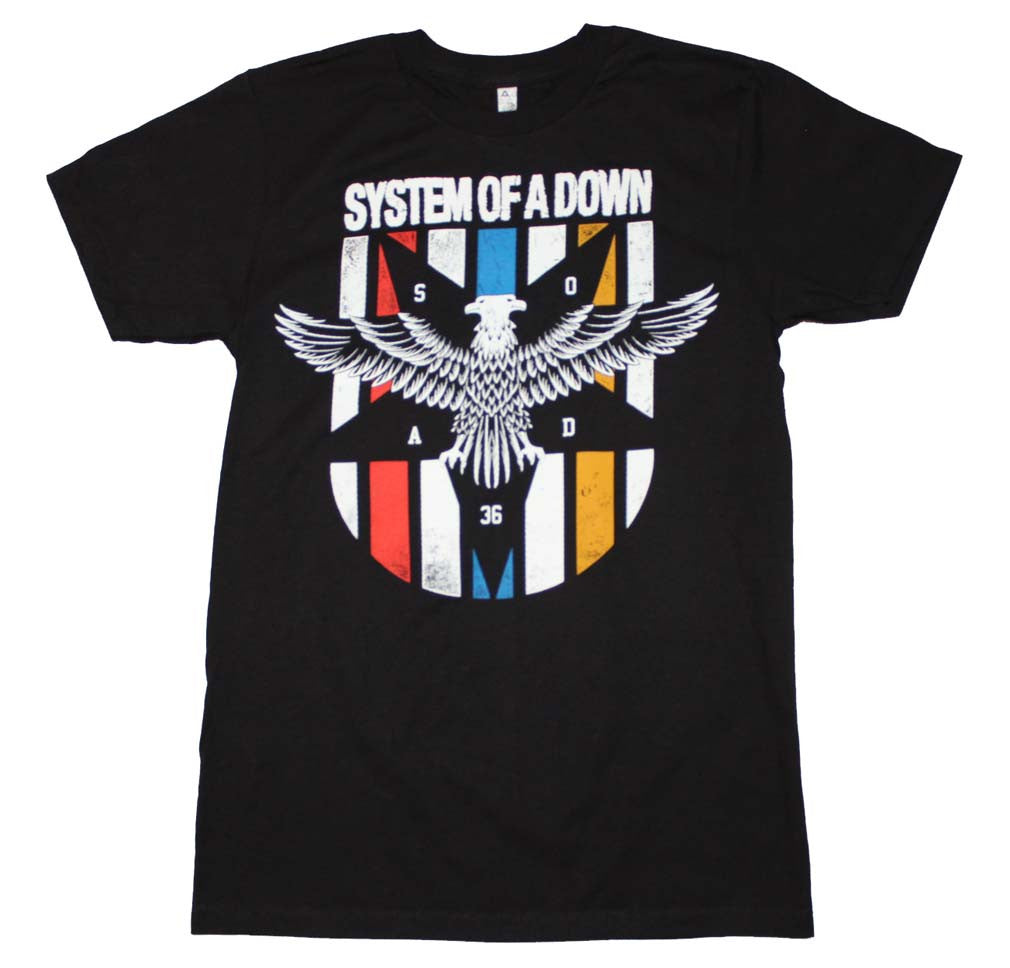 System of a Down Eagle Colors T-Shirt
