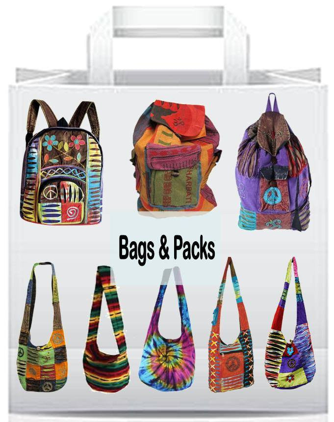 Bags and Backpacks, Hipriders, Coinbags, Wallets