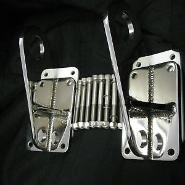 Stainless steel transom Lifting Brackets Polished 316L
