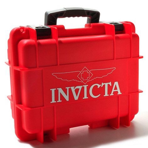 Invicta Red Watch Box