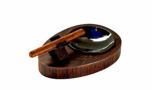 "Brizard and Co. The ""Deck"" Ashtray Oval (Single) - Wenge"