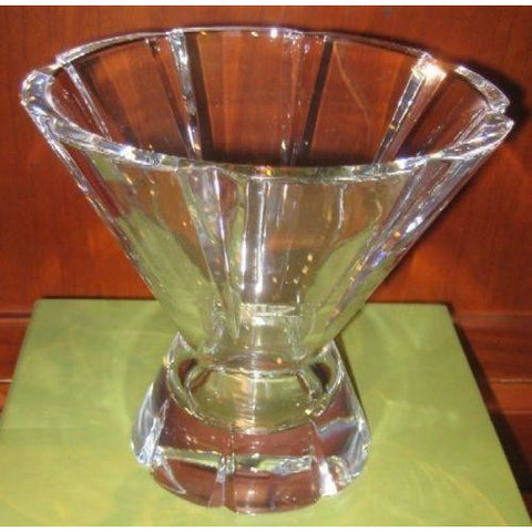 Christofle Paris Crystal Vase new in the original Christofle box