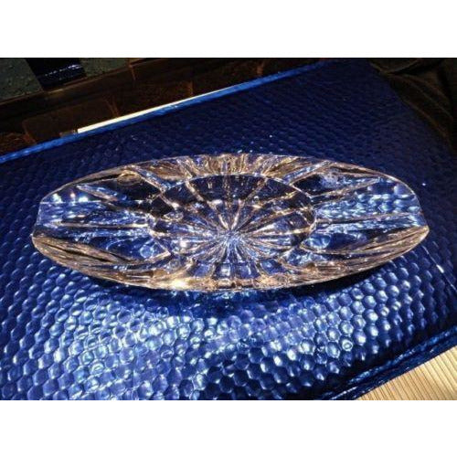 diamond crown Windsor crystal collection ashtray NIB