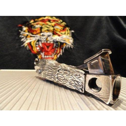 cigar cutter  custom made eagle head design new in the original tube