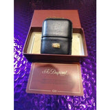 S.T.Dupont Black Leather  Gatsby  Lighter carrying case new in the original box