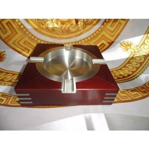 Royal Selangor Wooden Pewter Ashtray new in the original box