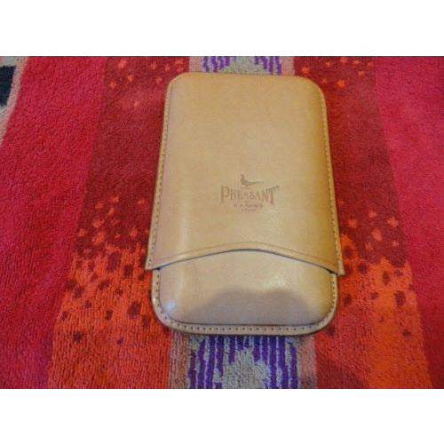 Pheasant by R.D.Gomez made in Spain Saddle   Case without the  original box