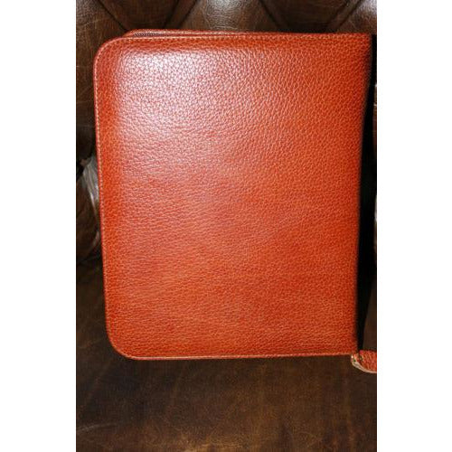 pheasant by R.D.Gomez made in Spain Havana  colored Leather   Case