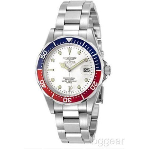 Invicta 8933 Men's Pro Diver White Dial Stainless Watch