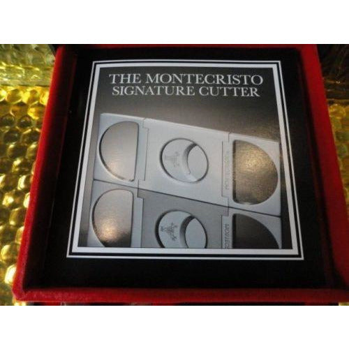 Montecristo signature cutter new in the box never used