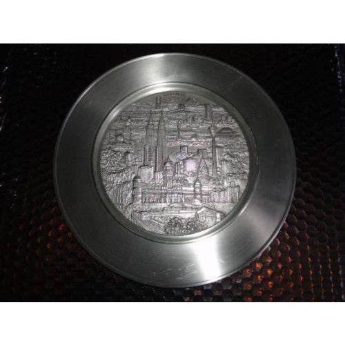 Royal Selangor Pewter Plate Malaysia Scene