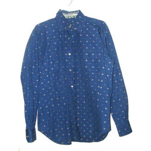 Bugatchi mens large casual designer shirt