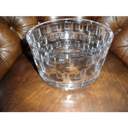 "Rosenthal  Classic Large Size  Crystal Bowl measures  8.75"" diameter by 5.25""  H"