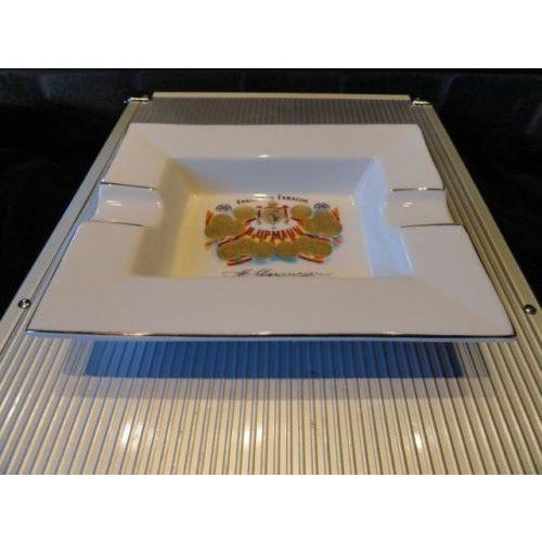 "H Upmann Cigar Ashtray - without the box  measures approx 7.5"" L x 6"" W"