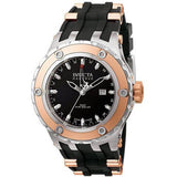 Invicta Model 6180 Reserve Collection GMT 18k Rose Gold-Plated and Stainless Steel