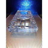 diamond crown Bristol crystal collection ashtray NIB