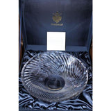 "Faberge Atelier Crystal Collection 12"" Diameter Bowl  in the original box"
