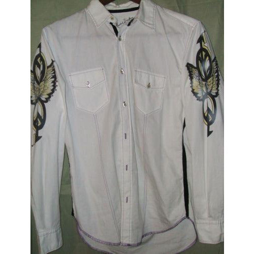 Arnold Zimberg mens casual designer shirt Medium