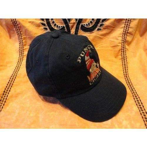 Punch cigars dark  blue  baseball cap