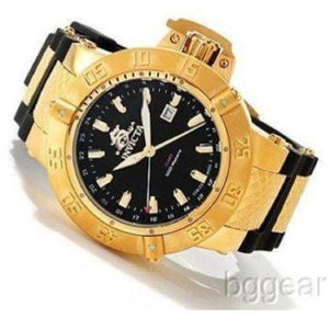 Invicta 1149 Men's Subaqua III Swiss Made Quartz GMT Mother-of-Pearl Dial Watch
