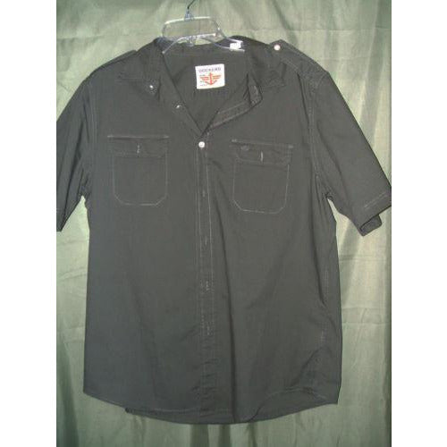 Dockers mens casual shirt large Preowned Good Condition
