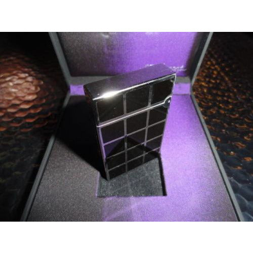 s.t.dupont black chinese lacquer & palladium squares L2 new in the box