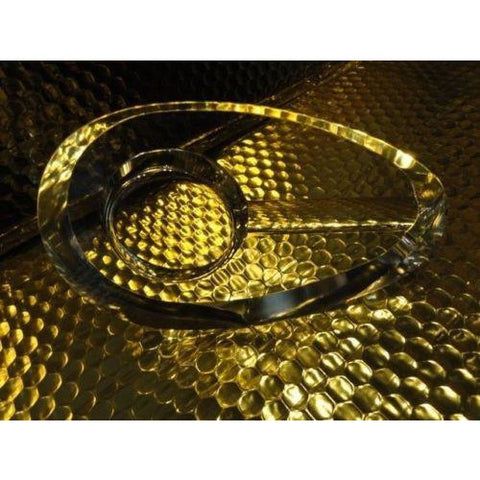 Alfred Dunhill Crystal Cigar Ashtray PA5102  new in the original Dunhill box