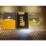 Cohiba Black & Gold Leather  Case with Cohiba Pocket Lighter new in boxes