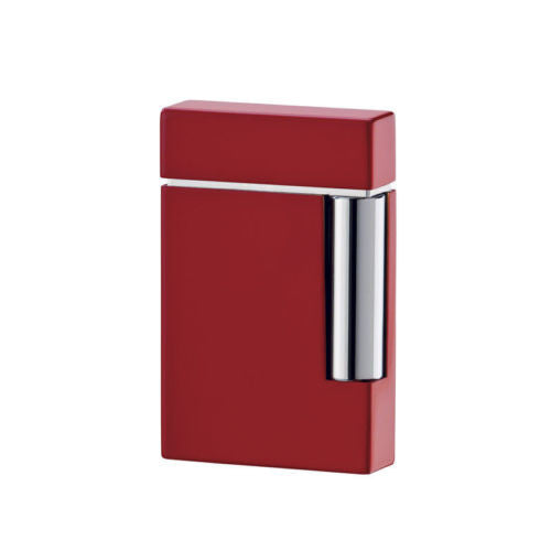 ST Dupont Ligne 8 Lighter Red in the original box with papers