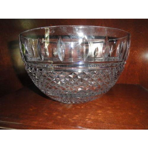 "waterford irish lace 10"" crystal bowl Model 149575 new in the original box"