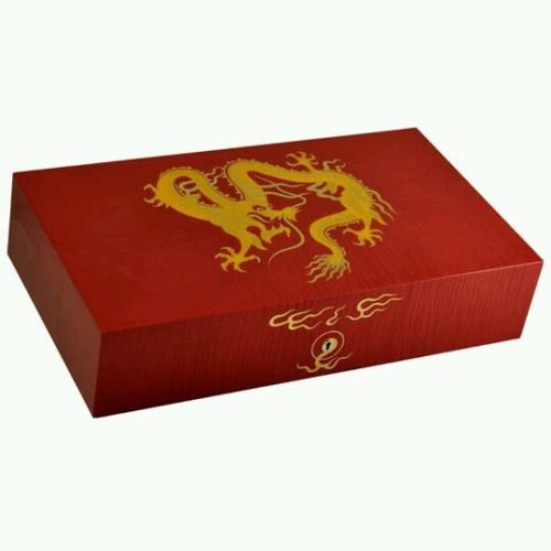 Elie Bleu 2012 Year of the Dragon Limited Edition Red Humidor 110 count