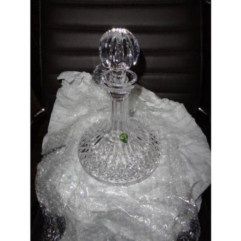 Waterford Heavy Cut Crystal  Ships Decanter new in the box