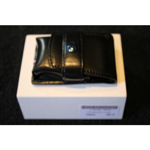s.t.dupont black leather lighter case for L2 Lighter new in the original box NIB