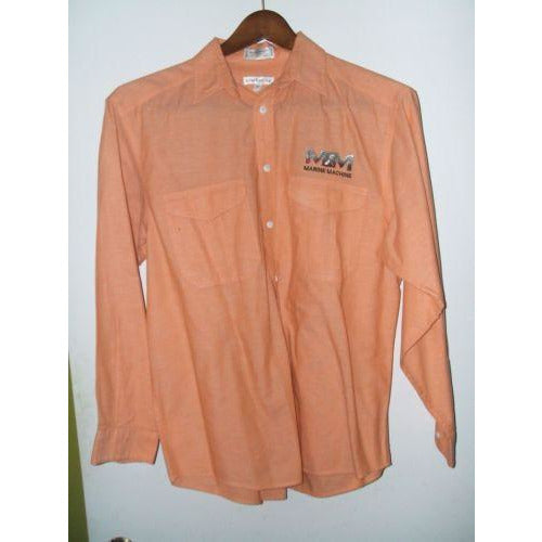 Claiborne mens medium casual designer shirt
