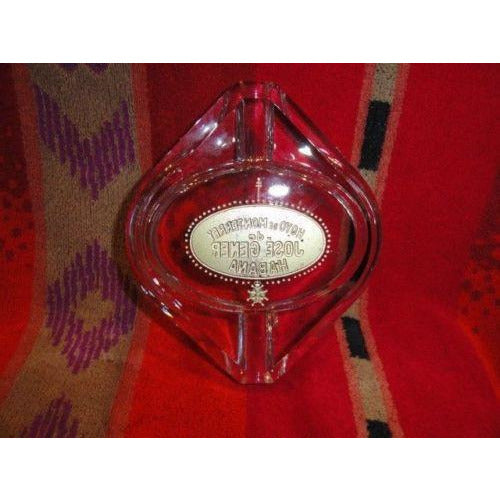giz studios Perolo  Hoyo de Monterrey  heavy crystal cigar ashtray in the box