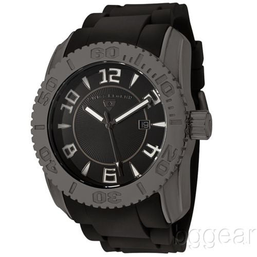Swiss Legend Commander Collection Gunmetal Watch