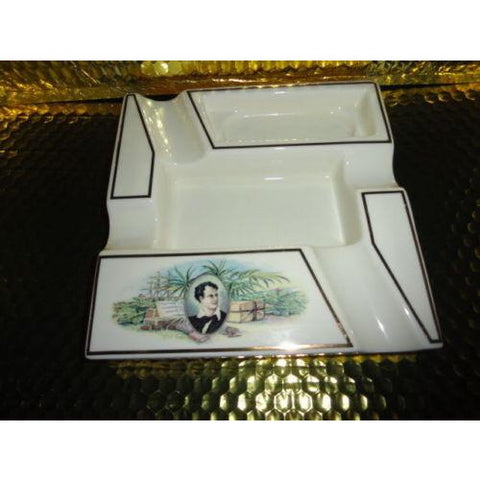 Bryon Ceramic Cigar Ashtray has minor surface crack