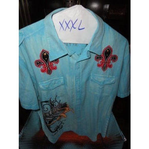 Retrofit mens casual shirt adult XXXL with tags