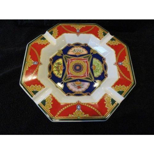 Versace by Rosenthal Ashtray 9 inches wide New Porcelain without box
