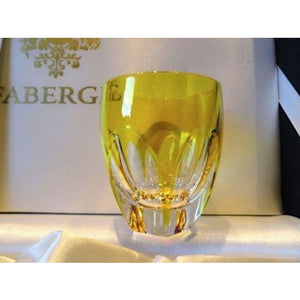 Faberge Lausanne Yellow Gold  Vodka Shot Glass without  the box