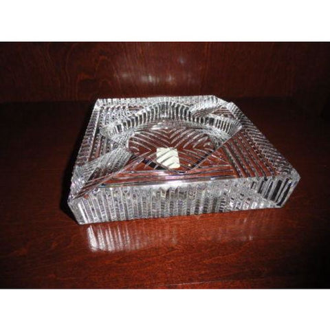 Alfred Dunhill  Stafford Crystal Ashtray in the original box