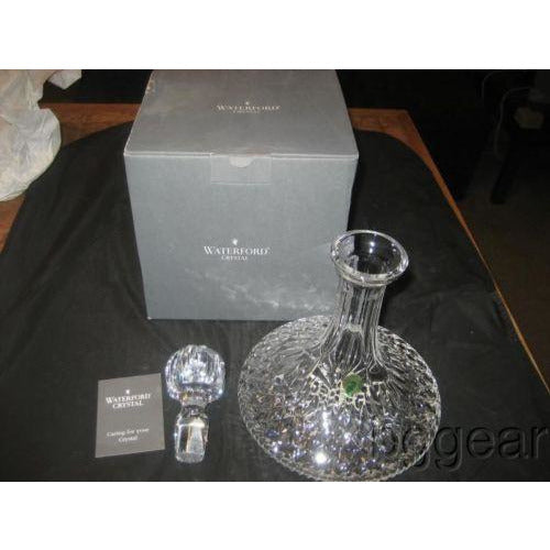 WATERFORD CRYSTAL SHIPS DECANTER NIB