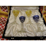 Faberge Xenia Liqueur  Glasses new in the box