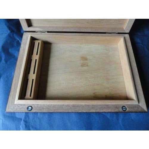 MASTRO DE PAJA -  Cigar Cedar Travel Humidor Cigar Box made in Italy