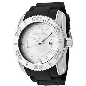 SWISS LEGEND Commander White Dial Black Band Watch Model 20068-02
