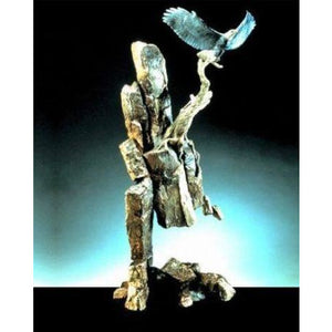 "Mark Hopkins Bronze "" Eagles Ledge"" ltd edition 250"